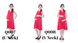1340bcbda175a JoyLuckClub l Maternity Dress l Pregnant Mummies Must-have l 2 Designs l  Free size