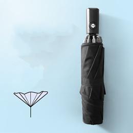 928ba00bbd17a Reverse Automatic Umbrella Men Women Three Folding Umbrellas Rain woman s  Umbrella Reverse Umbrella