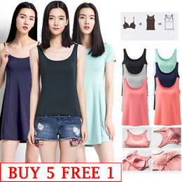 Bra Top/Padded Camisole / Tank Top / T-Shirt Bra /Tank Top bra/Long sleeve T-Shirt/ Home dress
