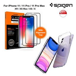 [SG] SPIGEN iPhone 11 Pro Max/11 Pro/11 / XR / XS Max / XS / X Tempered Glass Screen Protector