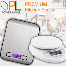 Premium Kitchen Scales Weighing Scales Electronic Digital LCD including Free Battery