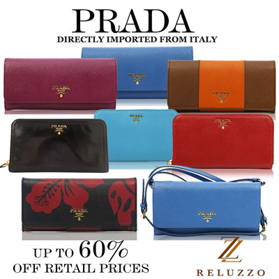 ae149ae13ac7 search.  RELUZZO  NEW MODELS UPDATED!!! Prada Wallets and Small Leather  Goods.