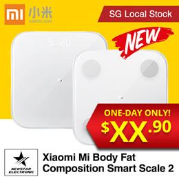 Xiaomi Mi Body Fat Smart Scale * Xiaomi Smart Weight Scale 2 *  Weight Management * SG Seller  [NEW]