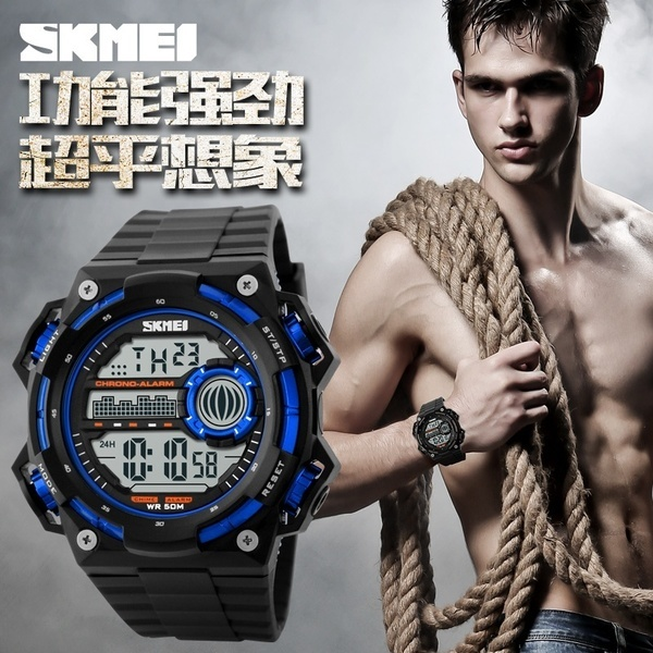 SKMEI Digital Mens Watch Collection Deals for only Rp63.000 instead of Rp75.000