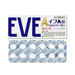 효과빠른 진통제/ 일본 EVE 이브 A 60정 / 두통 / 해열제 / 생리통