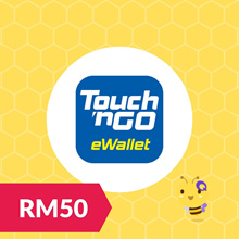 RM50 Touch N Go TNG eWallet Reload Pin Top Up