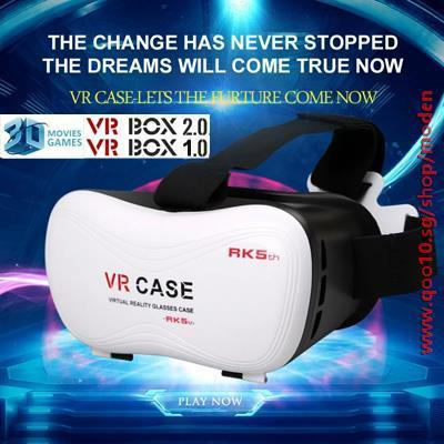 465978b346d  VR Box Case Hot Sale Virtual Reality Plastic Google Cardboard Head-Mounted