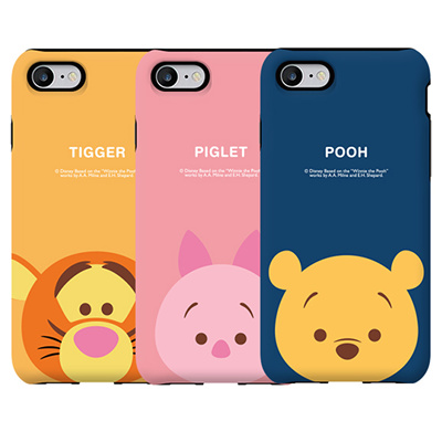 newest 3d06d c36cb DISNEY TSUM TSUM WINNIE THE POOH ARMOUR CASE FOR IPHONE XS MAX XR X 8 7 6  6S PLUS 5S SE 5 PHONE