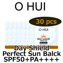 (sample) OHUI Day Shield Perfect Sun Black SPF50+,PA++++ 1ml x 30pcs