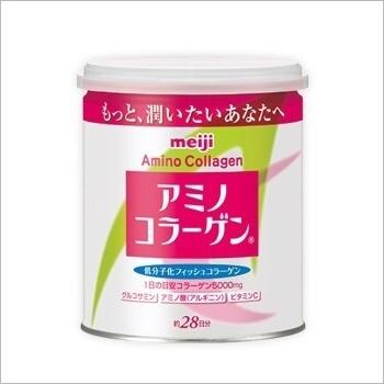 Meiji Amino Collagen Cans 200g Refill Pack 214g / Amino Collagen Premium / Eating Collagen