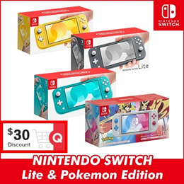 Nintendo Switch Lite Console System 5.5 inch Compact