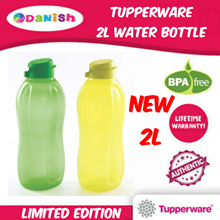 ★Authentic Tupperware★Fridge 2L Water Bottle School Sports *BPA Free