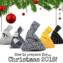 [🎄🎅Best Christmas gift] lunch bag /Japanese wristlet/drawstring/handbag