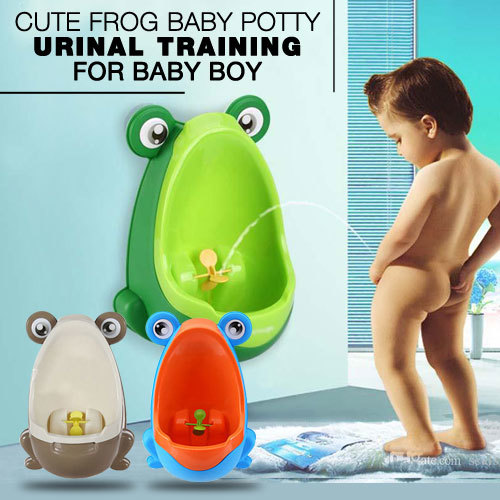 Cute Frog Baby Potty Urinal Training for Baby Boy Deals for only Rp100.000 instead of Rp100.000