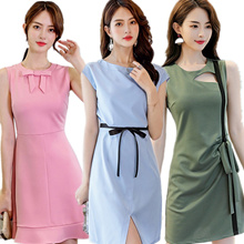 【NO OPTION PRICE】Korean Fashion Dress/Korean style Slim dress/Strapless/Halter/Little black dress