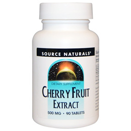 [Health] Source Naturals, Cherry Fruit Extract, 500 mg, 90 Tablets