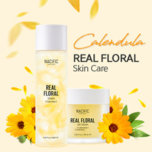 [NACIFIC] Real Floral Skin Care Collection / Real Calendula / Rose Toner Cream