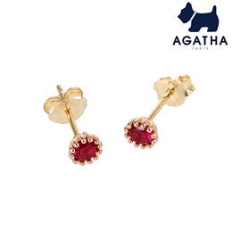 [AGATHA Paris] ◆Lowest Price◆Genuine Agatha Earring 14K SIMPLE 2381623S-322-TU