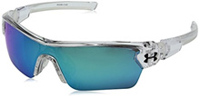 Under Armour Unisex-Child Ua Menace 8600095-106151 Wrap Sunglasses