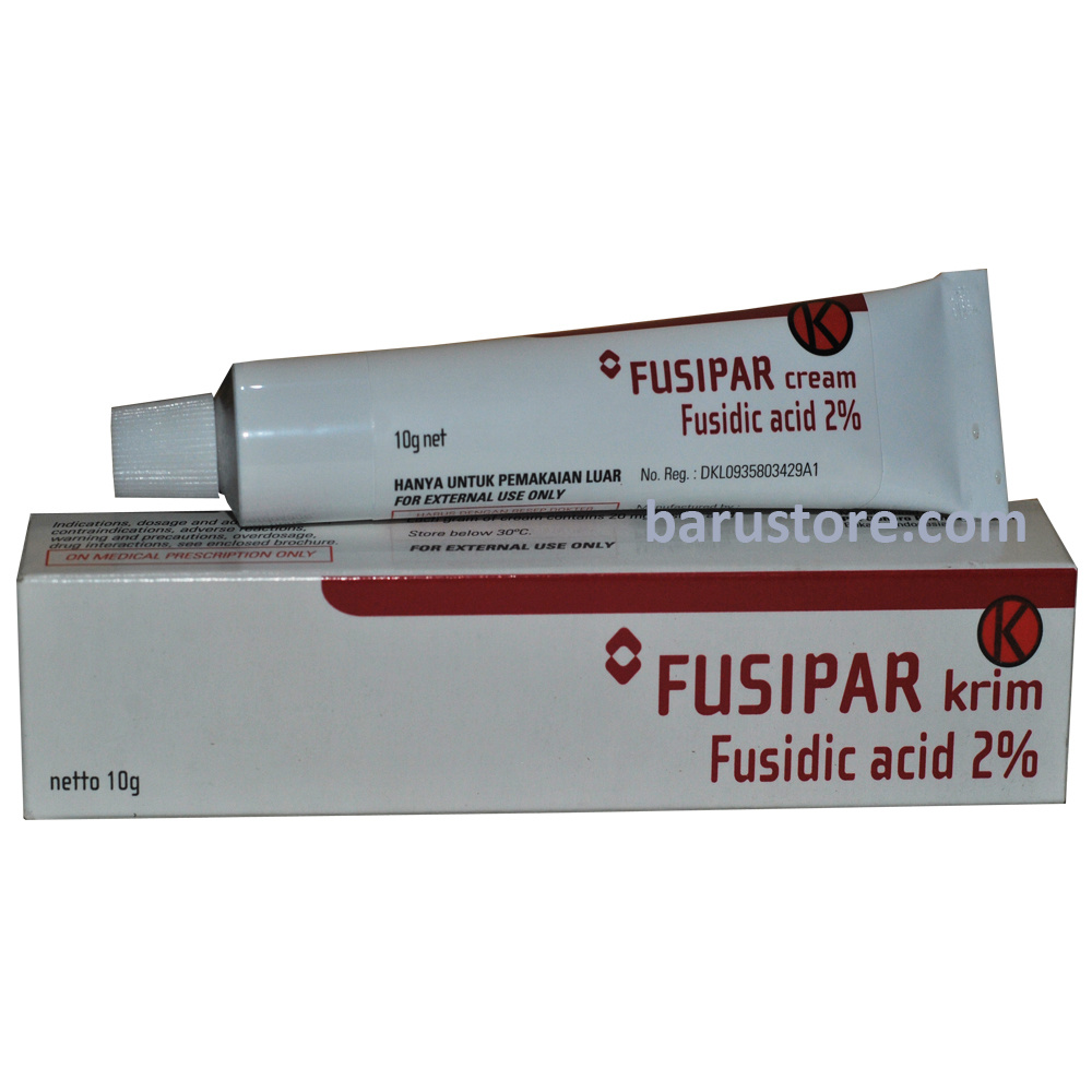 Barustore Fusipar Fusidic Acid Cream 2 For Acne Vulgaris Treatment