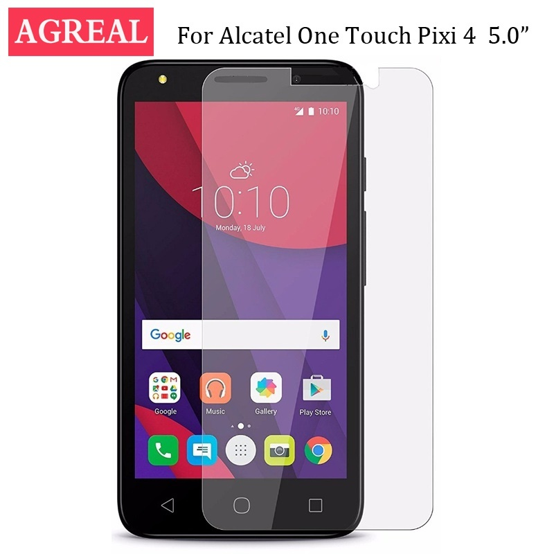 sports shoes e11d1 20beb Alcatel Pixi 4 5 5.0 inchinch Tempered Glass Cover Alcatel One Touch Pixi 4  (5) 5010 5010D Case on