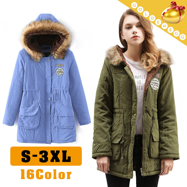 Winter Coat?Long type cotton-padded clothes for woman?Outdoor/ Make your winter warmer/ Thick coat Deals for only S$49.8 instead of S$0