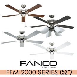 [HomeApp] FANCO FFM 2000 52 inch Ceiling Fan / Light Kits Available. Installation option