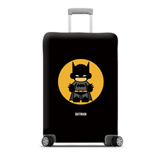 Heroes Polyester Travel Luggage Suitcase Protective Cover (26-28Inch) - L