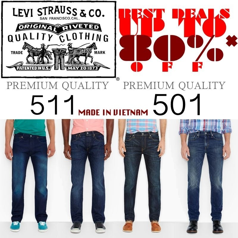 Qoo10 -  BIG SALE  JEANS LEVIS 501 511 PREMIUM QUALITY  LOW ... a8bc4ee3bc