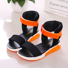 35b0e7c7799f Quick View Window OpenWishAdd to Cart. rate 0. sale children shoes Summer  boots High-top fashion Roman girls sandals kids gladiator ...