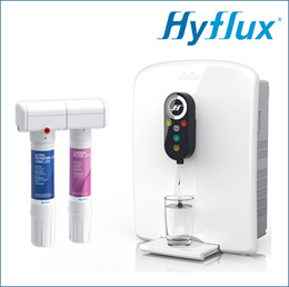 Hyflux HF1P+ Ultrafiltration Drinking Water System + D800 DEW Water Dispenser (Bundle Pack)