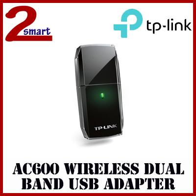 TPLinkTP-Link Archer T2U AC600 Wi-Fi USB Adapter/Wireless Dual Band/1  Internal Antennas/Local Warranty
