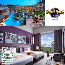 Hard Rock Hotel Resorts World Sentosa Singapore PROMO room 1 night stay LIMITED ROOMS LEFT