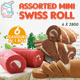 Mini Assorted Swiss Roll FREE DELIVERY!!