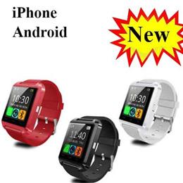 nowasia Smartwatch★ U8 U80 U8 Plus Bluetooth Touchscreen Smart Watch / For iPhone Android HTC Smartwatch Touch Screen Original Uwatch / Value For Money