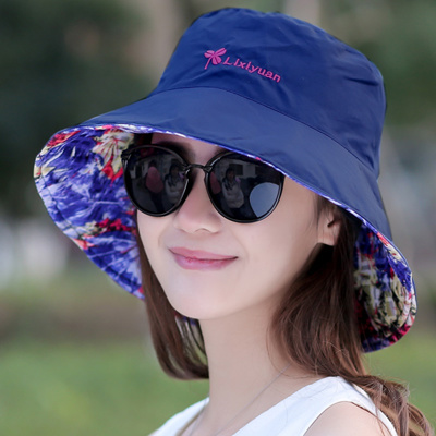 daa618b745c 2018 new Korean version of Spring and summer lady Sun hat Outdoor sunscreen