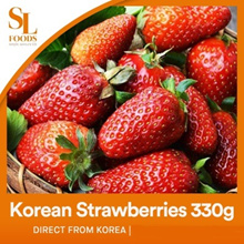 [K Food]Premium Korean Strawberries 330g / Direct from Korea / Produce of Korea