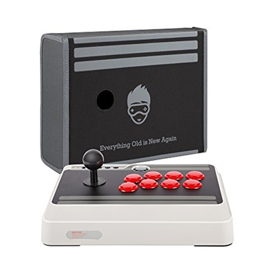 ◆Direct from USA◆ 8Bitdo N30 Arcade Stick with BONUS Geek Theory Arcade  Stick Dust Cover Case - Wire