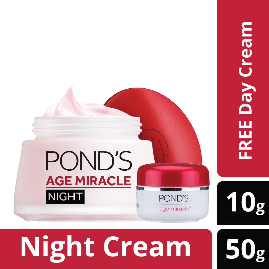 Qoo10 Ponds Acne Solution Perlengkapan Rumah Tangga Londs Age Miracle Night Cream 10g Fit To Viewer Prev Next Day
