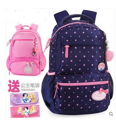 Disney School Bag girls backpack girls princess backpacks school children  shoulder school bag kids 0ac1d11091943