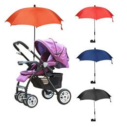 Baby Stroller Umbrella Colorful Kids Children Pram Bicycle Bike Stroller Chair Umbrella Bar Holder M