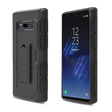 Shockproof Armor Hybrid Rugged Belt Clip Holster Kickstand Stand Case for Samsung Galaxy Note 8