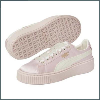 cheap for discount 63c6a 67a1d Puma Kids [Boribori/PUMA]Snickers for Puma Women BASKET PLATFORM TWEEN /  running shoes / Canvas / Ko