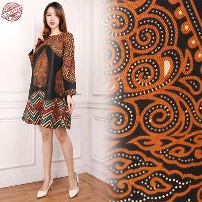Midi Dress Maria Tunik Batik