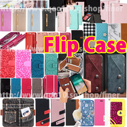 HOT Flip wallet PU Leather case for iPhone X 8 7 6 iPhone 8 Plus 7 Plus Samsung Galaxy Note 8 S8 S7