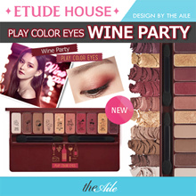 [ETUDE HOUSE] PLAY COLOR EYES SERISE / WINE PARTY / IN THE CAFE / CHERRY BLOSSOM