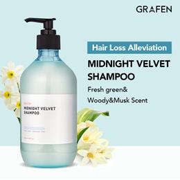 [GRAFEN] Midnight Velvet Shampoo 500ml / Perfume shampoo / Hair Loss Care / No silicone / No paraben