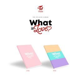 TWICE - WHAT IS LOVE [Random ver.] CD+Photobook+Photocards+Sticker+Free Gift