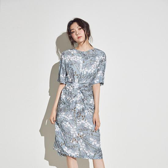 メグジェイMAGJAYフラワーリボンワンピースJ91OOP114 面ワンピース/ 韓国ファッション