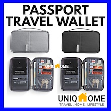 ✈️UNIQHOME✈️ TRAVEL WALLET★PASSPORT COVER POUCH ★CARD WALLET POUCH★TRAVEL LUGGAGE ORGANIZER★